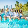 """Sarah, Milla, Mélanie, Luna, Kim, Anissa candidates des """"Anges 9"""", photo officielle"""