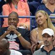 Beyoncé et son mari Jay Z pendant l'US Open 2016 au USTA Billie Jean King National Tennis Center à Flushing Meadow, New York City, New York, Etats-Unis, le 1er Septembre 2016.