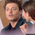 """L'humoriste Kev Adams révèle avoir dragué Joyce Jonathan par le passé et s'être pris un vent. Emission """"C à vous"""" sur France 5, le 10 février 2016."""