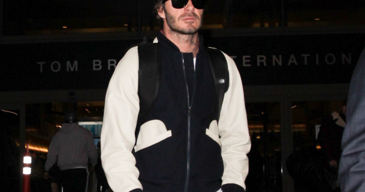 David Beckham arrive &... 2017 David Beckham Divorce