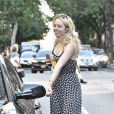 Tiffany Trump monte dans une voiture à New York le 29 août 2016.