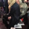 Tiffany Trump, la fille de Donald Trump, victimisée lors du défilé de Phillip Plein, se retrouve seule au premier rang lors de la Fashion Week à New York le 14 février 2017