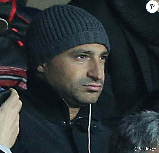 Thomas Fabius - Personnalites lors du match de football PSG (Paris Saint-Germain) - Nice au Parc des Princes, a Paris le 9 Novembre 2013.