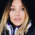 Caroline Receveur au ski, en Andorre, le 19 février 2017.