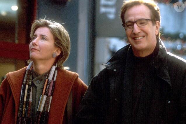 Emma Thompson et Alan Rickman, un couple iconique dans Love Actually.