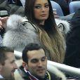 Emilie Nefnaf ( Nef Naf ) au Match amical France - Allemagne au Stade de France, le 6 fevrier 2013.