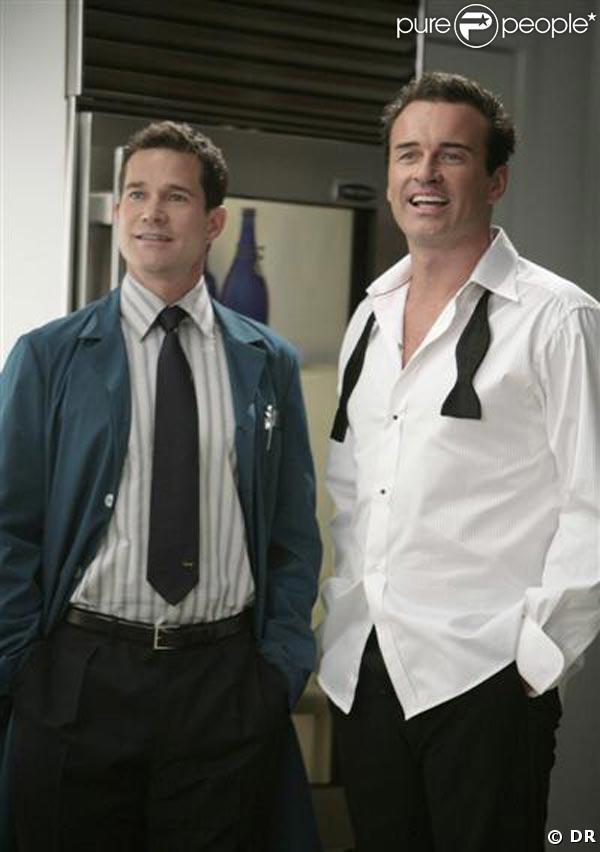 Dylan Walsh et Julian McMahon