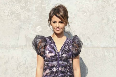 Fashion Week : Monica Cruz, matinale et radieuse pour Armani
