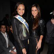 Fashion Week : Les Miss France Alicia Aylies et Malika Ménard se régalent !