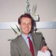 Stefano Casiraghi avec son fils Pierre Casiraghi dans ses bras à la maternité en septembre 1987. Devenu père à son tour le 28 février 2017 avec sa femme Beatrice Borromeo, Pierre Casiraghi a choisi de prénommer son fils Stefano, comme son père, mort en 1990.