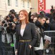 """Fauve Hautot arrive au Musée Rodin pour assister au défilé de mode """"Christian Dior"""", collection prêt-à-porter Automne-Hiver 2017-2018. Paris, le 3 Mars 2017.© CVS/Veeren/Bestimage"""