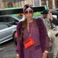 """Marjorie Harvey arrivant au défilé de mode """"Elie Saab"""", collection prêt-à-porter Automne-Hiver 2017-2018 au Grand Palais à Paris, le 4 Mars 2017.© CVS/Veeren/Bestimage"""