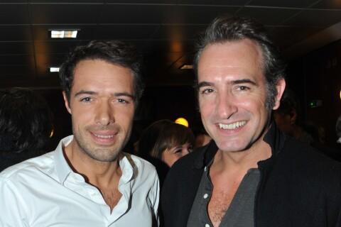 """Jean Dujardin : Son pote Nicolas Bedos """"un peu remplacé"""" par Nathalie Péchalat"""