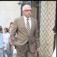 Le père d'Alexandra Lamy lors du mariage de sa fille avec Jean Dujardin en 2009 à Anduze