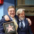John Goodman, Jeff Bridges - Inauguration de la plaque de John Goodman sur le Walk Of Fame à Hollywood. Le 10 mars 2017  Celebrities attending the Hollywood Walk Of Fame Ceremony for John Goodman in Hollywood, California on March 10, 2017.10/03/2017 - Hollywood