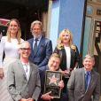 John Goodman, Jeff Bridges, Brie Larson - Inauguration de la plaque de John Goodman sur le Walk Of Fame à Hollywood. Le 10 mars 2017  Celebrities attending the Hollywood Walk Of Fame Ceremony for John Goodman in Hollywood, California on March 10, 2017.10/03/2017 - Hollywood