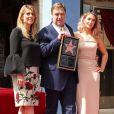 John Goodman entouré de sa femme Anna Beth et de sa fille Molly Evangeline - Inauguration de la plaque de John Goodman sur le Walk Of Fame à Hollywood. Le 10 mars 2017  Celebrities attending the Hollywood Walk Of Fame Ceremony for John Goodman in Hollywood, California on March 10, 2017.10/03/2017 - Hollywood