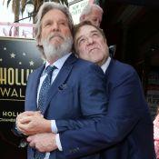 """John Goodman, en famille, étoilé : Jeff Bridges lui fait une surprise de """"dude"""""""