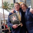 John Goodman et Jeff Bridges - Inauguration de la plaque de John Goodman sur le Walk Of Fame à Hollywood. Le 10 mars 2017 © Chris Delmas / Bestimage  Celebrities attending the Hollywood Walk Of Fame Ceremony for John Goodman in Hollywood, California on March 10, 2017.10/03/2017 - Hollywood
