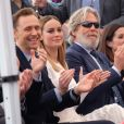 Tom Hiddleston, Brie Larson et Jeff Bridges - Inauguration de la plaque de John Goodman sur le Walk Of Fame à Hollywood. Le 10 mars 2017 © Chris Delmas / Bestimage  Celebrities attending the Hollywood Walk Of Fame Ceremony for John Goodman in Hollywood, California on March 10, 2017.10/03/2017 - Hollywood