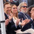Tom Hiddleston, Brie Larson et Jeff Bridges - Inauguration de la plaque de John Goodman sur le Walk Of Fame à Hollywood. Le 10 mars 2017 © Chris Delmas / Bestimage  Celebrities attending the Hollywood Walk Of Fame Ceremony for John Goodman in Hollywood, California on March 10, 2017.10/03/2017 - Hollywood