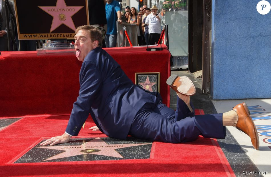 John Goodman - Inauguration de la plaque de John Goodman sur le Walk Of Fame à Hollywood. Le 10 mars 2017 © Chris Delmas / Bestimage  Celebrities attending the Hollywood Walk Of Fame Ceremony for John Goodman in Hollywood, California on March 10, 2017.10/03/2017 - Hollywood