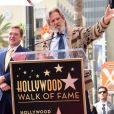 Jeff Bridges avait apporté sa panoplie du Duc (The Dude), son personnage culte du film The Big Lebowski, pour son ami John Goodman - Inauguration de la plaque de John Goodman sur le Walk Of Fame à Hollywood. Le 10 mars 2017 © Chris Delmas / Bestimage