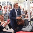Jeff Bridges - Inauguration de la plaque de John Goodman sur le Walk Of Fame à Hollywood. Le 10 mars 2017 © Chris Delmas / Bestimage  Celebrities attending the Hollywood Walk Of Fame Ceremony for John Goodman in Hollywood, California on March 10, 2017.10/03/2017 - Hollywood