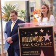 John Goodman et Brie Larson - Inauguration de la plaque de John Goodman sur le Walk Of Fame à Hollywood. Le 10 mars 2017 © Chris Delmas / Bestimage  Celebrities attending the Hollywood Walk Of Fame Ceremony for John Goodman in Hollywood, California on March 10, 2017.10/03/2017 - Hollywood