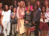 Beyoncé enceinte : Élégante et discrète, elle vole la vedette à sa maman