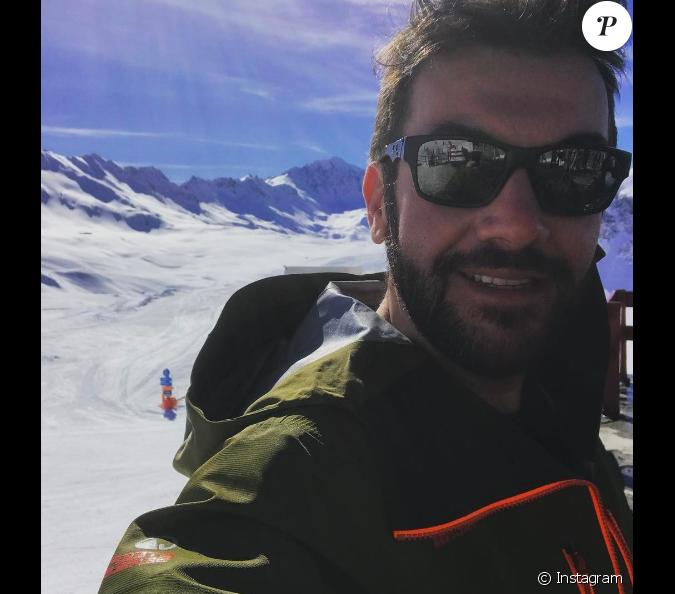 laurent ournac et sa compagne profitent d 39 un beau s jour au ski val d 39 is re mars 2017. Black Bedroom Furniture Sets. Home Design Ideas
