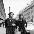 ARCHIVES - SERGE GAINSBOURG AVEC JANE BIRKIN A PARIS00/00/1972 -