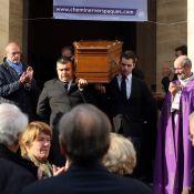 Obsèques de Pierre Bouteiller : Macha Méril, Mathieu Gallet, Bruno Masure réunis