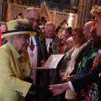La reine Elizabeth II et plusieurs membres de la famille royale assistaient le 13 mars 2017 à la messe célébrée en l'abbaye de Westminster à l'occasion de la Journée du Commonwealth. Le prince William, en vacances aux sports d'hiver, n'en faisait pas partie.