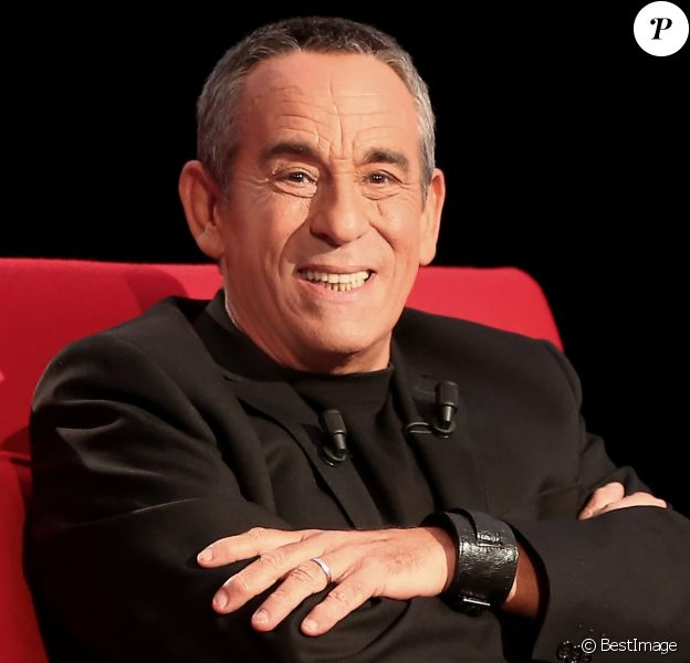 """Enregistrement de l'émission """"Le Divan"""" présentée par Marc-Olivier Fogiel, avec Thierry Ardisson en invité, le 31 janvier 2015."""
