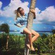 Emilie Picch en vacances - Instagram, 2017