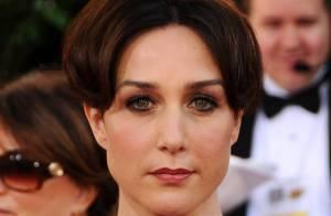 Elsa Zylberstein... très sexy aux Golden Globes !