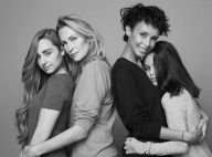 Estelle Lefébure, Sonia Rolland : Égéries beauté avec leurs filles Emma et Tess