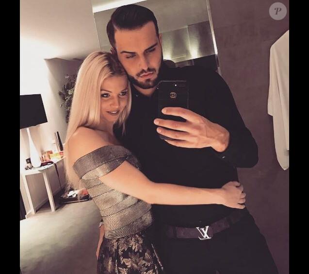 """Jessica des """"Marseillais"""" et Nikola Lozina en amoureux pour la Saint-Valentin, 14 février 2017, Instagram"""