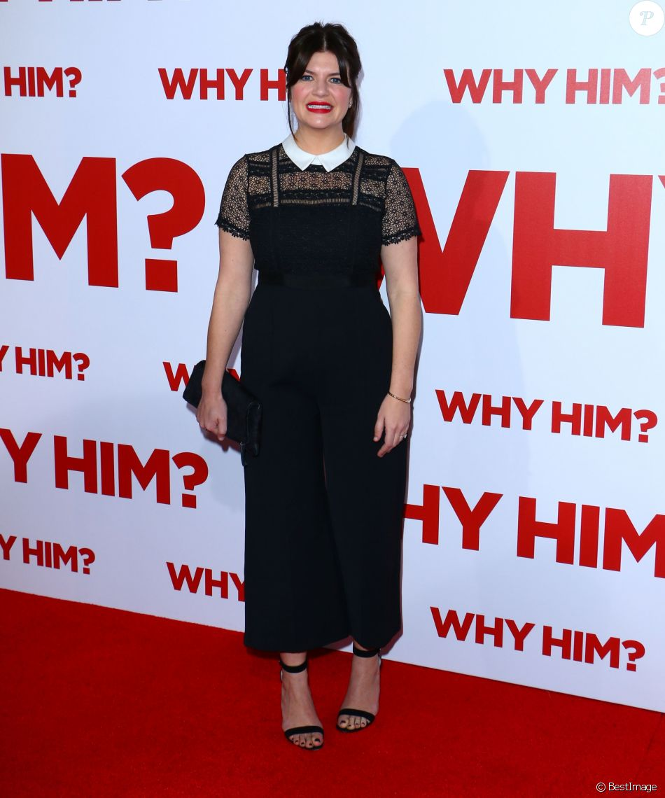 """Casey Wilson - Avant-première du film """"Why Him?"""" au cinéma Fox Bruin Theater à Westwood, le 17 décembre 2016."""