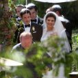 Casey Wilson et David Caspe se sont mariés lors d'une cérémonie de intime au Ojai Valley Inn à Ojai, le 25 mai 2014.