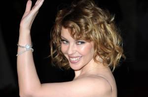 Kylie Minogue et son superbe amoureux très complices à Barcelone !