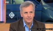 Bernard de La Villardière invité de C à Vous le 24 mars 2017.