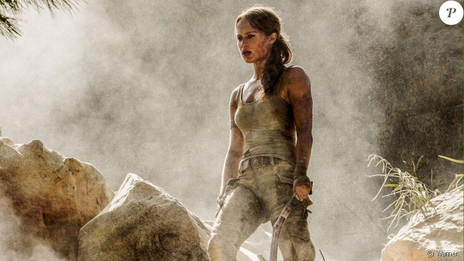 Alicia Vikander s'affiche en Lara Croft dans Tom Raider.