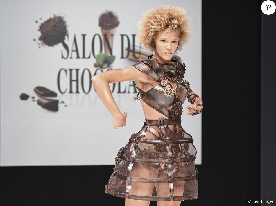 Amanda scott d fil du 22 me salon du chocolat la for Salon 2016 porte de versailles
