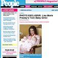 Les jumelles de Lisa-Marie Presley !
