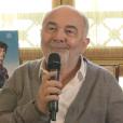 Gérard Jugnot en interview avec Purepeople pour le film C'est beau la vie quand on y pense.