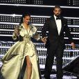 Drake et Rihanna aux MTV Video Music Awards 2016 au Madison Square Garden. New York, le 28 août 2016.