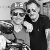 Johnny Hallyday heureux de retrouver son fils David à Los Angeles