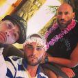 "Jeff sur le tournage des ""Anges 8"" avec Tarek Benattia et Nikola Lozina - Instagram, 2017"